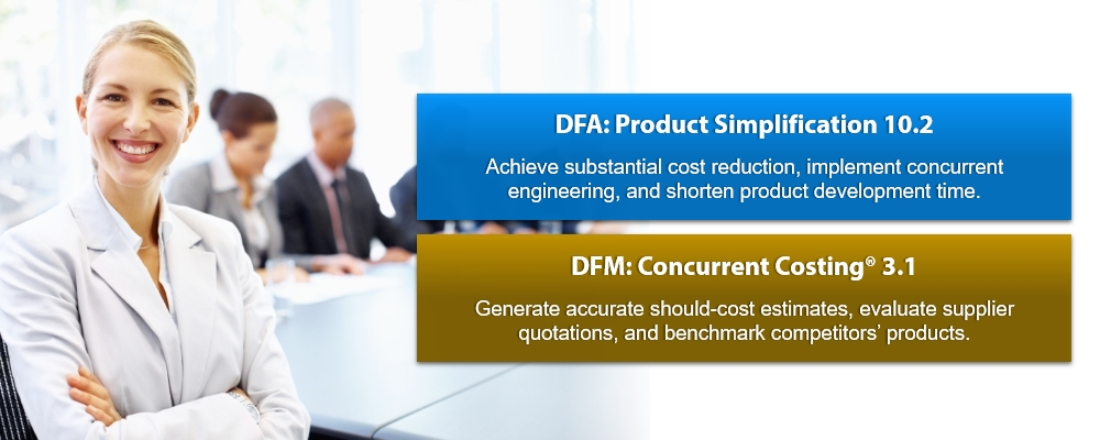 DFA Product Simplification DFM Concurrent Costing